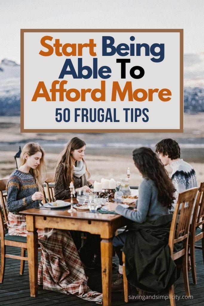 afford more