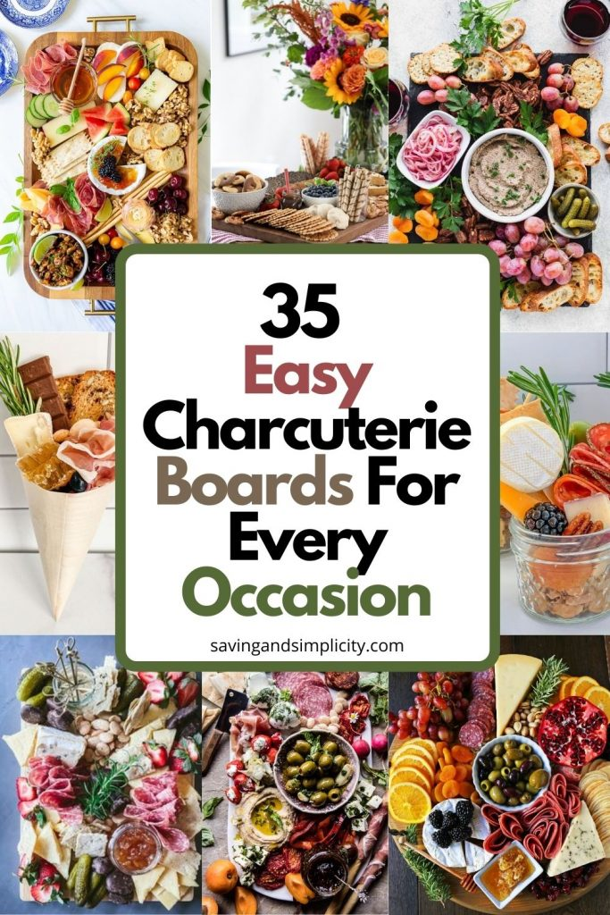 easy charcuterie boards