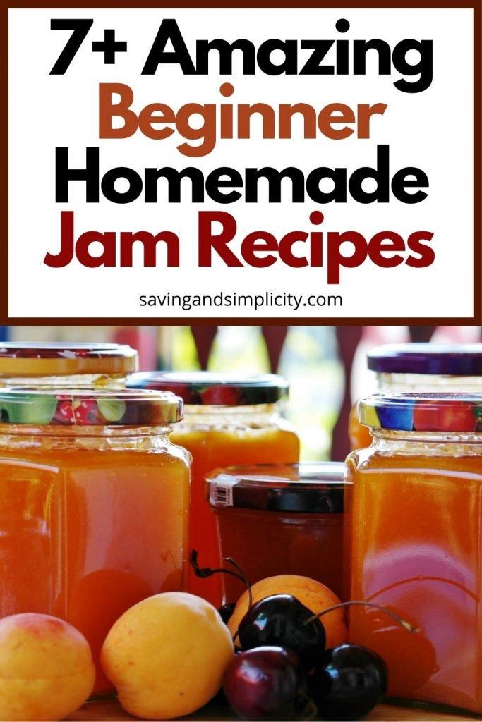 beginner jam recipes