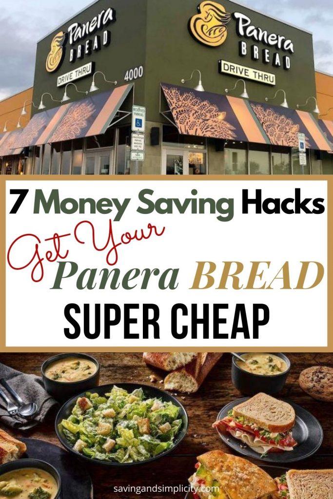panera breads money saving hacks