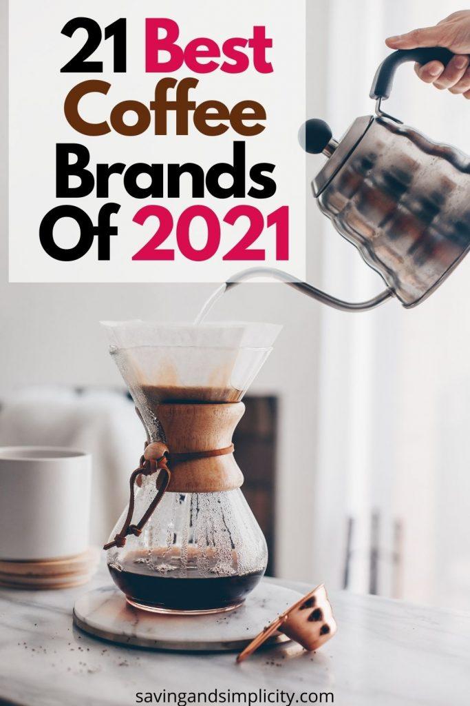 best coffee brands