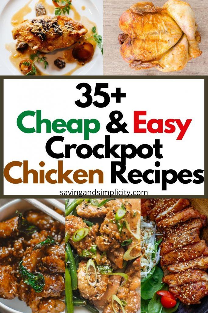 recetas fáciles de crockpot