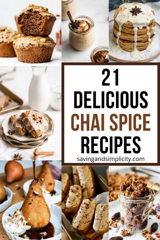 chai spice recipes