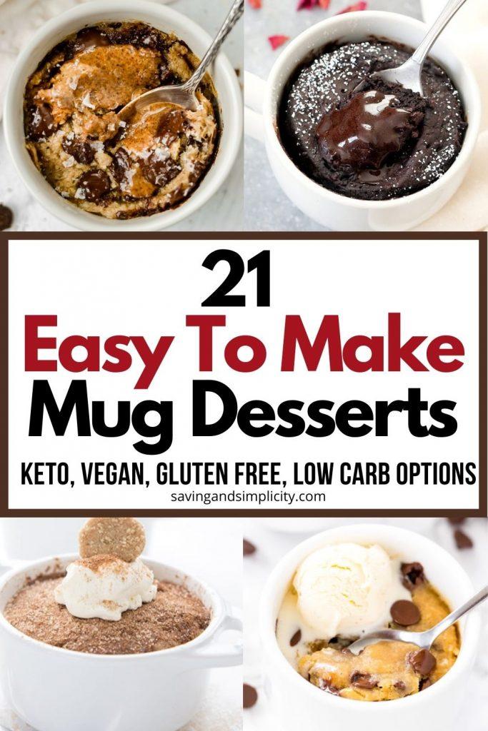 mug dessert recipes
