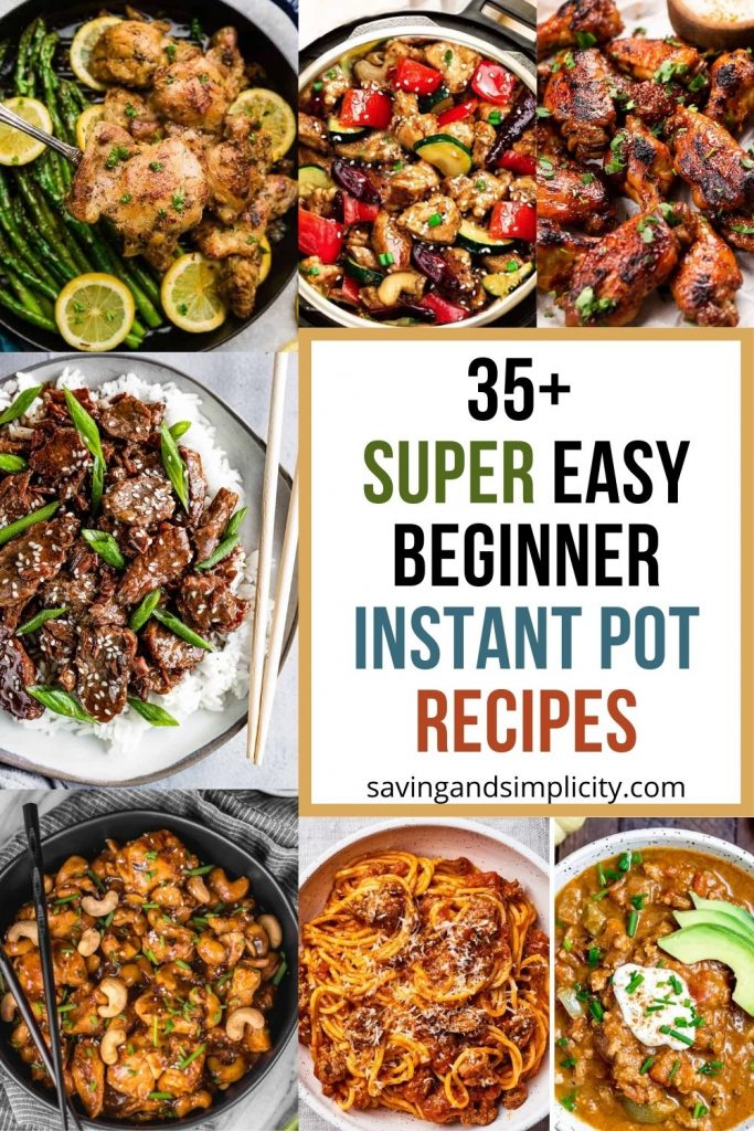 beginner Instant Pot recipes