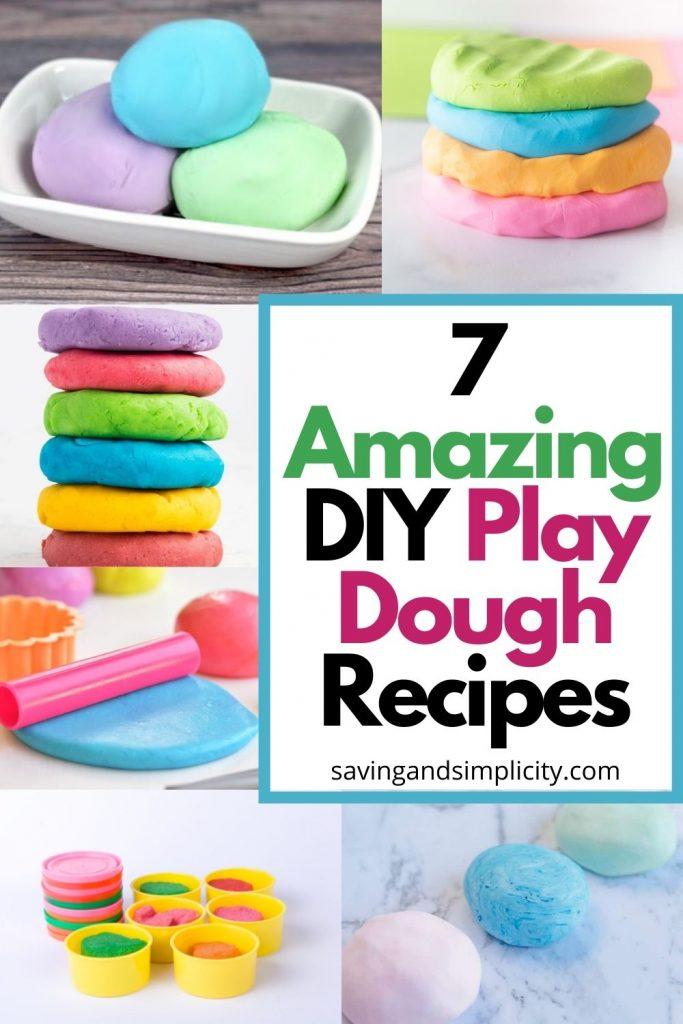 DIY play dough recipe