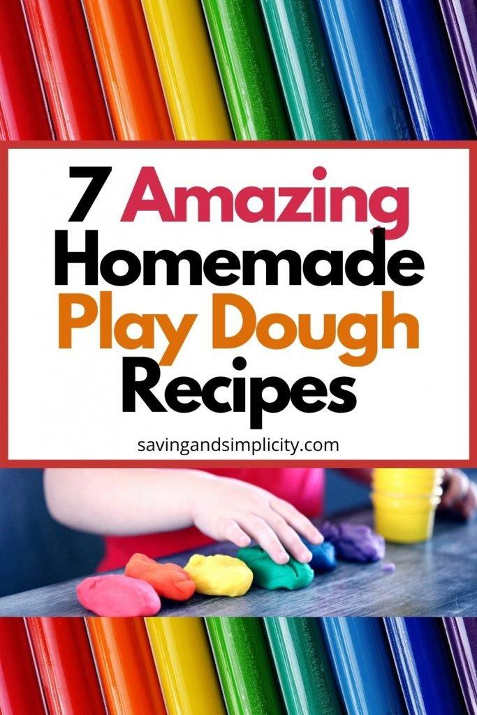 homemade play dough recipe