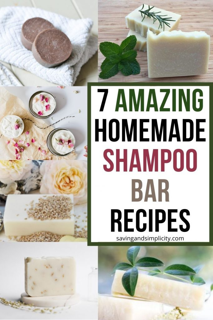 shampoo bar recipe