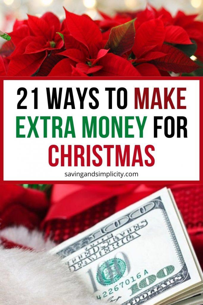 ways to make extra Christmas money