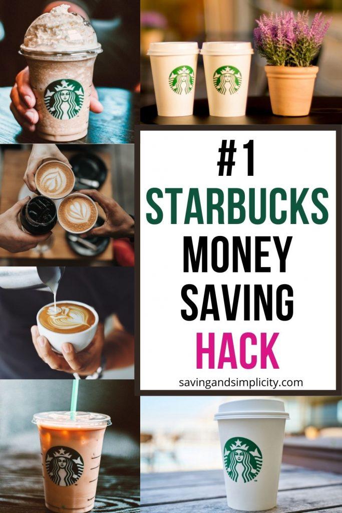 starbucks money saving hack