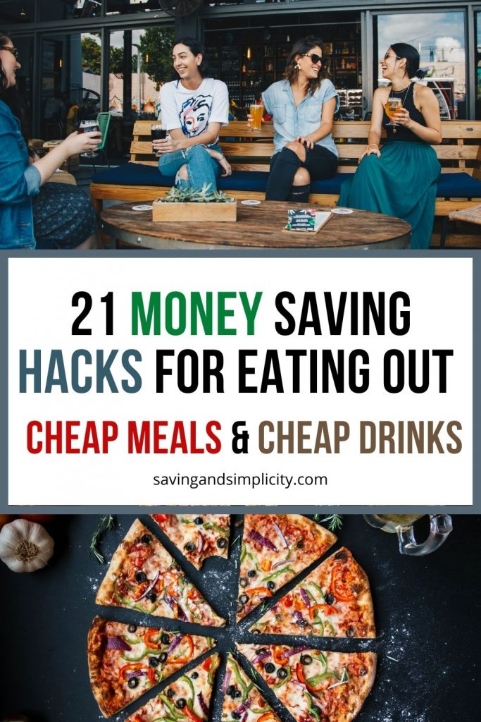 money saving hacks for dining out