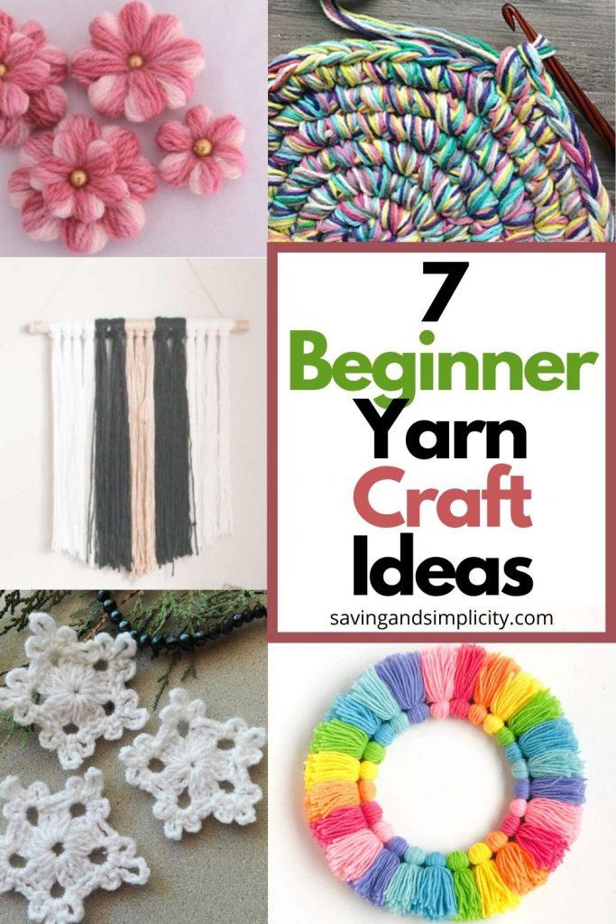 beginner yarn craft ideas